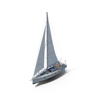 Offshore Sailing Yacht PNG & PSD Images