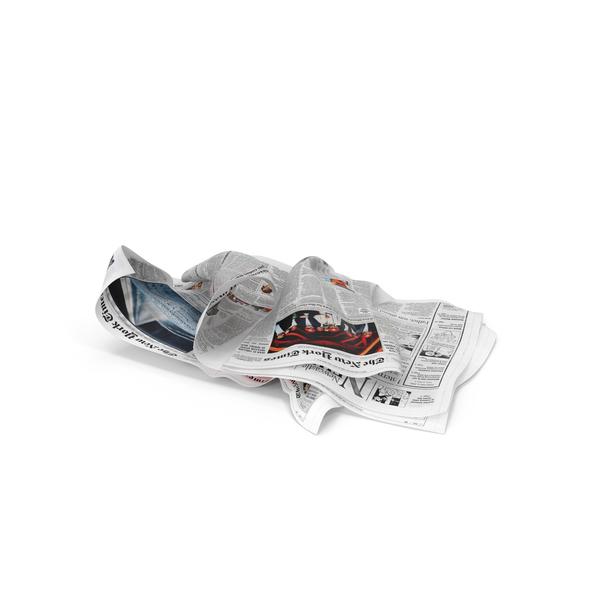 Newspaper Litter PNG & PSD Images