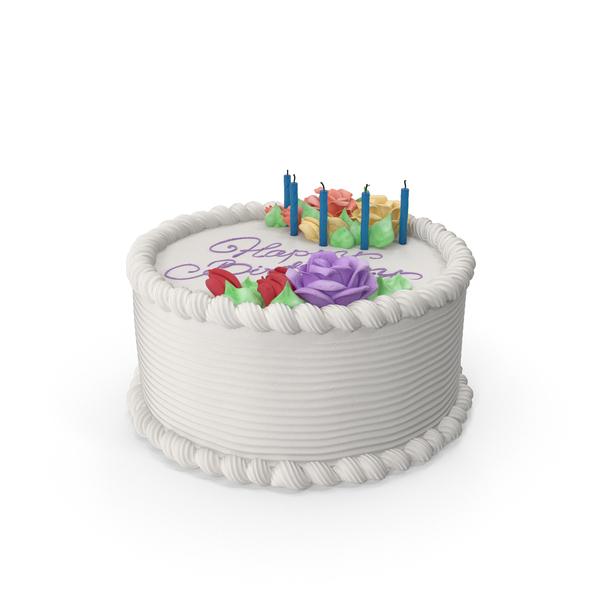 Birthday Cake Object