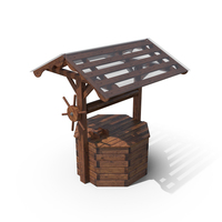 Wooden Well House PNG & PSD Images