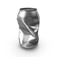 Crushed Soda Can PNG & PSD Images