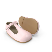Pink Baby Shoes PNG & PSD Images