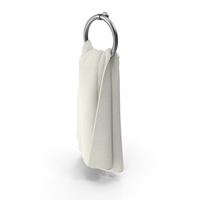 White Towel on Rack PNG & PSD Images