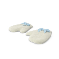 Newborn Mittens PNG & PSD Images