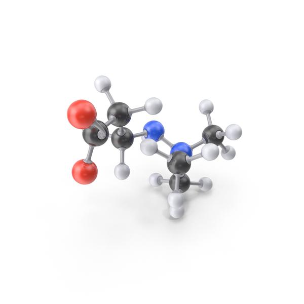 Meldonium Molecule PNG & PSD Images