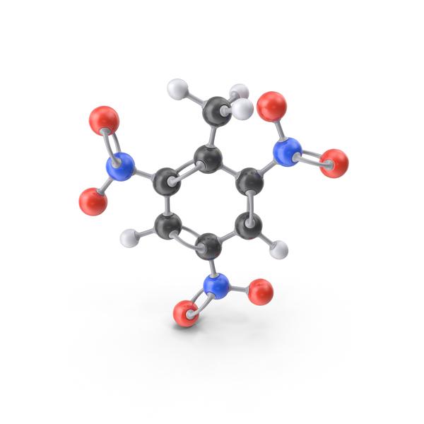 TNT Molecule PNG & PSD Images