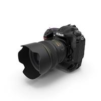 Nikon D5 DSLR Camera PNG & PSD Images