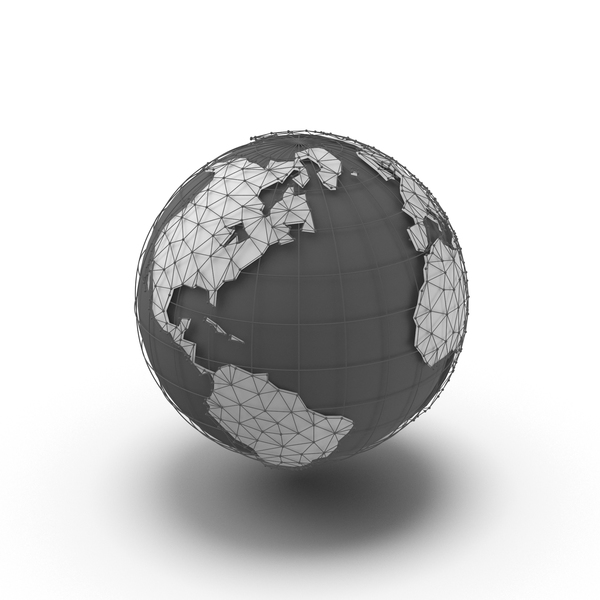Globe Continents PNG & PSD Images