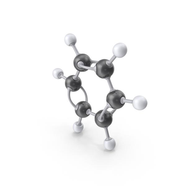 Benzene Molecule PNG & PSD Images
