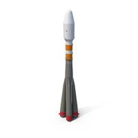 Soyuz Space Rocket PNG & PSD Images