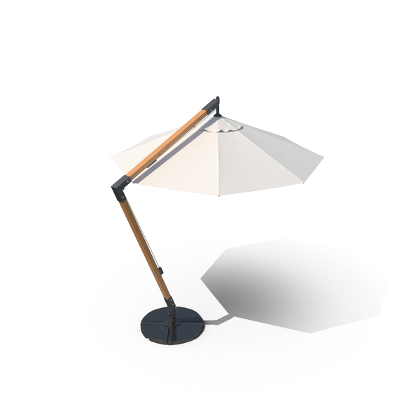 Outdoor Self-Standing Umbrella Object