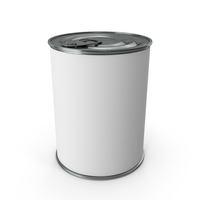 Blank Label Can PNG & PSD Images