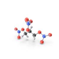 Nitroglycerin Molecule PNG & PSD Images