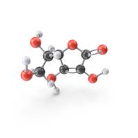 Vitamin C Molecule PNG & PSD Images