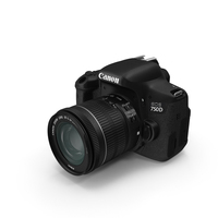 Canon EOS 750D PNG & PSD Images