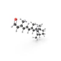 Vitamin A Molecule PNG & PSD Images