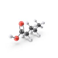 Valeric Acid Molecule PNG & PSD Images
