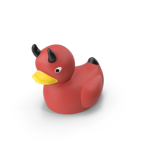 Devil Rubber Duck PNG & PSD Images