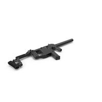 KRISS Vector Submachine Gun PNG & PSD Images