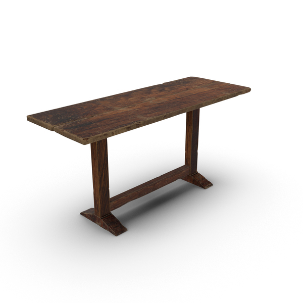 Rustic Table Object