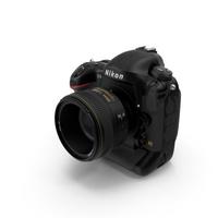 Nikon D4S PNG & PSD Images