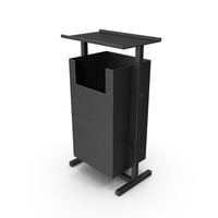 Outdoor Trash Can PNG & PSD Images