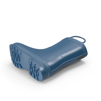 Kid's Rain Boot PNG & PSD Images