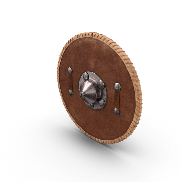 Medieval Leather Shield PNG & PSD Images