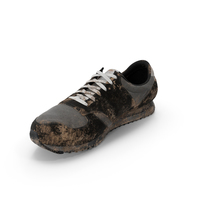 Muddy Running Shoe PNG & PSD Images