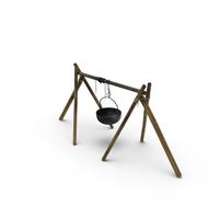 Medieval Cauldron PNG & PSD Images