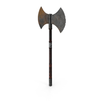 Medieval Battle Axe PNG & PSD Images