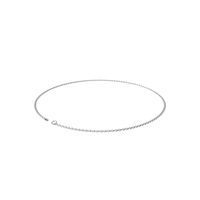 White Gold Chain PNG & PSD Images