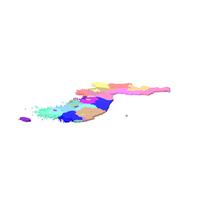 Korea Map PNG & PSD Images