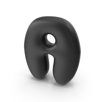 Bubble Letter A PNG & PSD Images