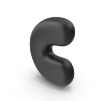 Bubble Letter C PNG & PSD Images