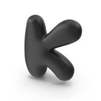 Bubble Letter K PNG & PSD Images