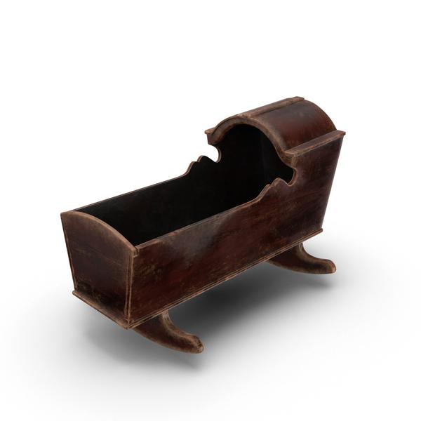 Creepy Baby Cradle Object