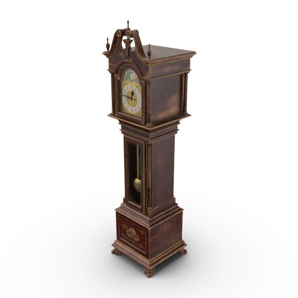 Creepy Grandfather Clock PNG & PSD Images