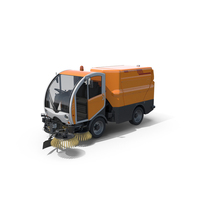Bucher Citycat 2020 Compact Street Sweeper PNG & PSD Images