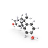 Bisphenol A Molecule PNG & PSD Images