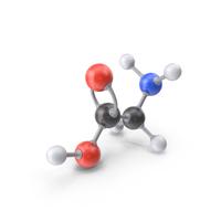 Glycine Molecule PNG & PSD Images