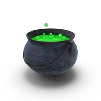 Witch Cauldron PNG & PSD Images