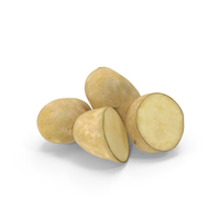Russet Potatoes PNG & PSD Images