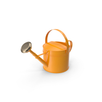 Orange Watering Can PNG & PSD Images