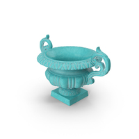 Baroque Urn Vase PNG & PSD Images