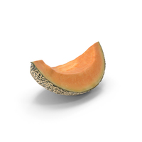 Cantaloupe Slice PNG & PSD Images