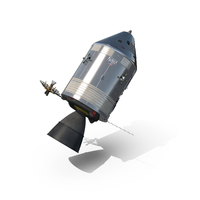 Apollo Command Service Module Spacecraft PNG & PSD Images