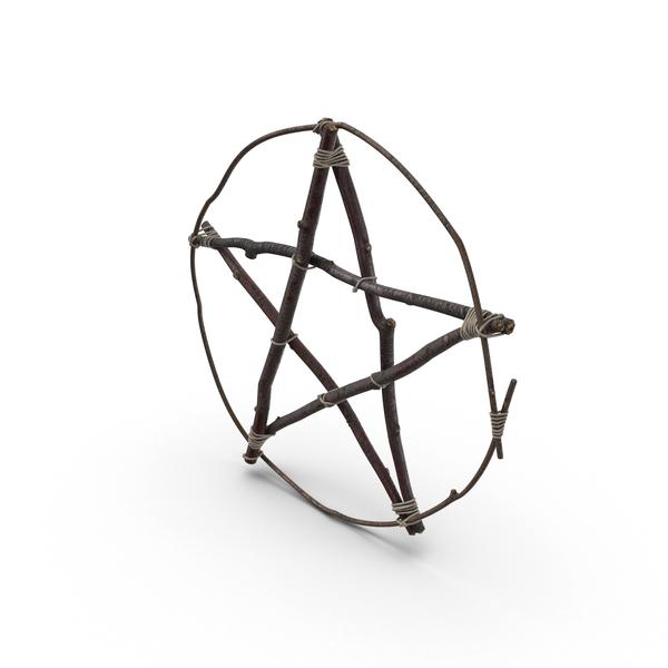 Twig Pentagram PNG & PSD Images