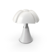 Table Lamp White PNG & PSD Images