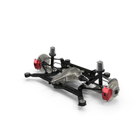 Rear Independent Suspension PNG & PSD Images